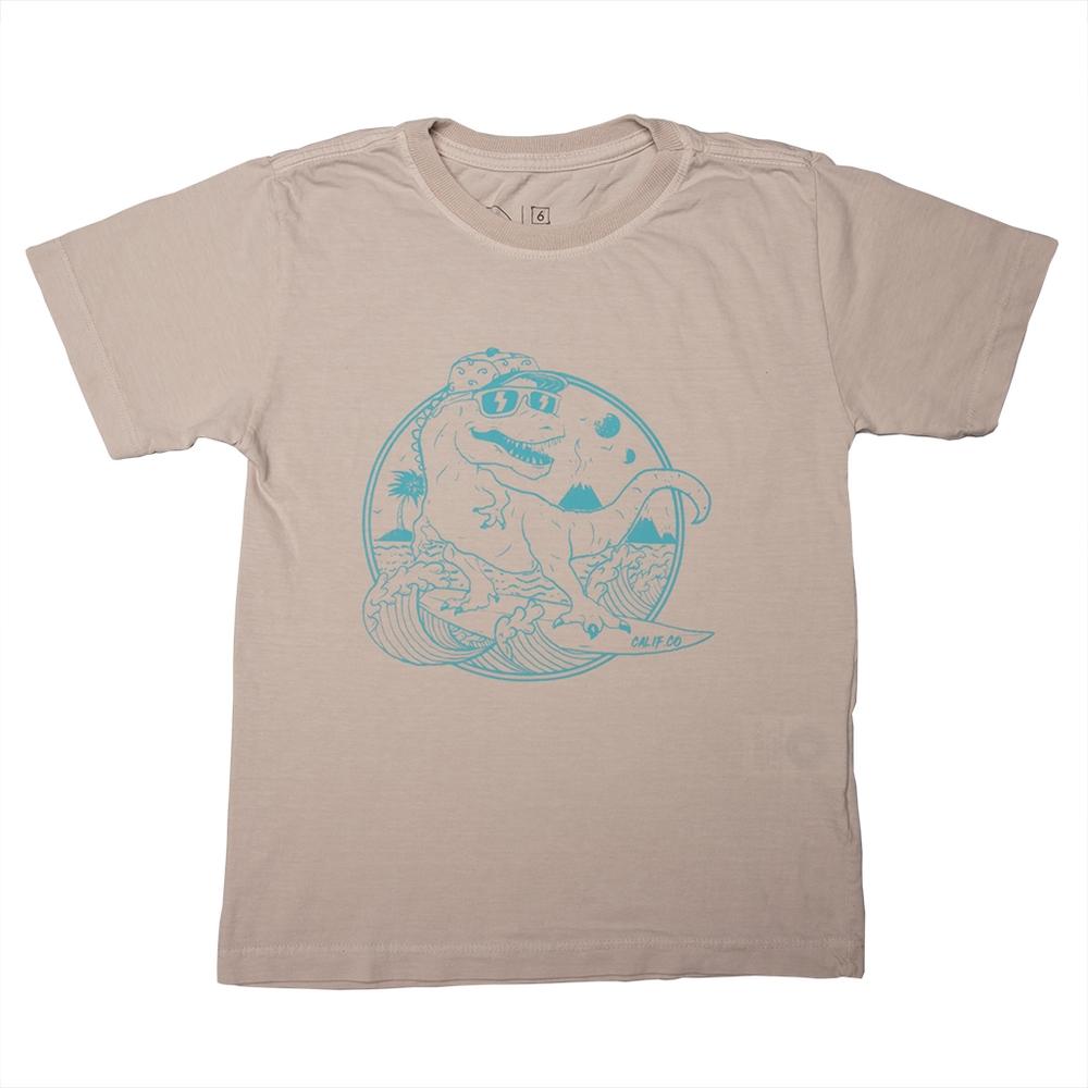 Camiseta Stone Gelo Estampa Frontal Dino Calif