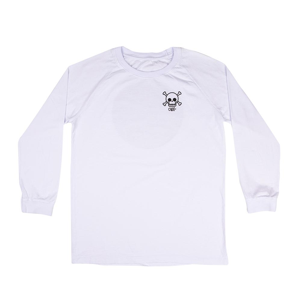 Camiseta Manga Longa Stone Branco