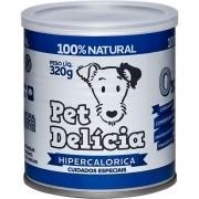 Ração Úmida  Hipercalórica para Cães 320g - Pet Delícia
