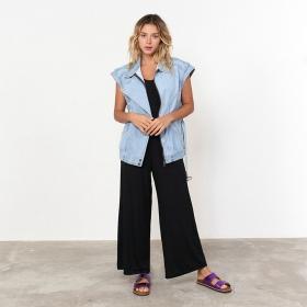 Colete Oversized jeans