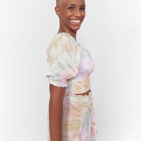 Cropped Bufante Tie Dye