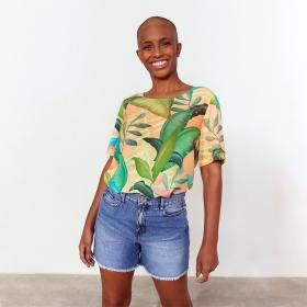 Short Tipo Bermuda jeans