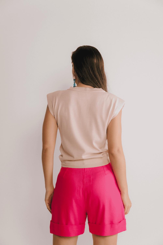 Blusa Muscle Tricot Lisa