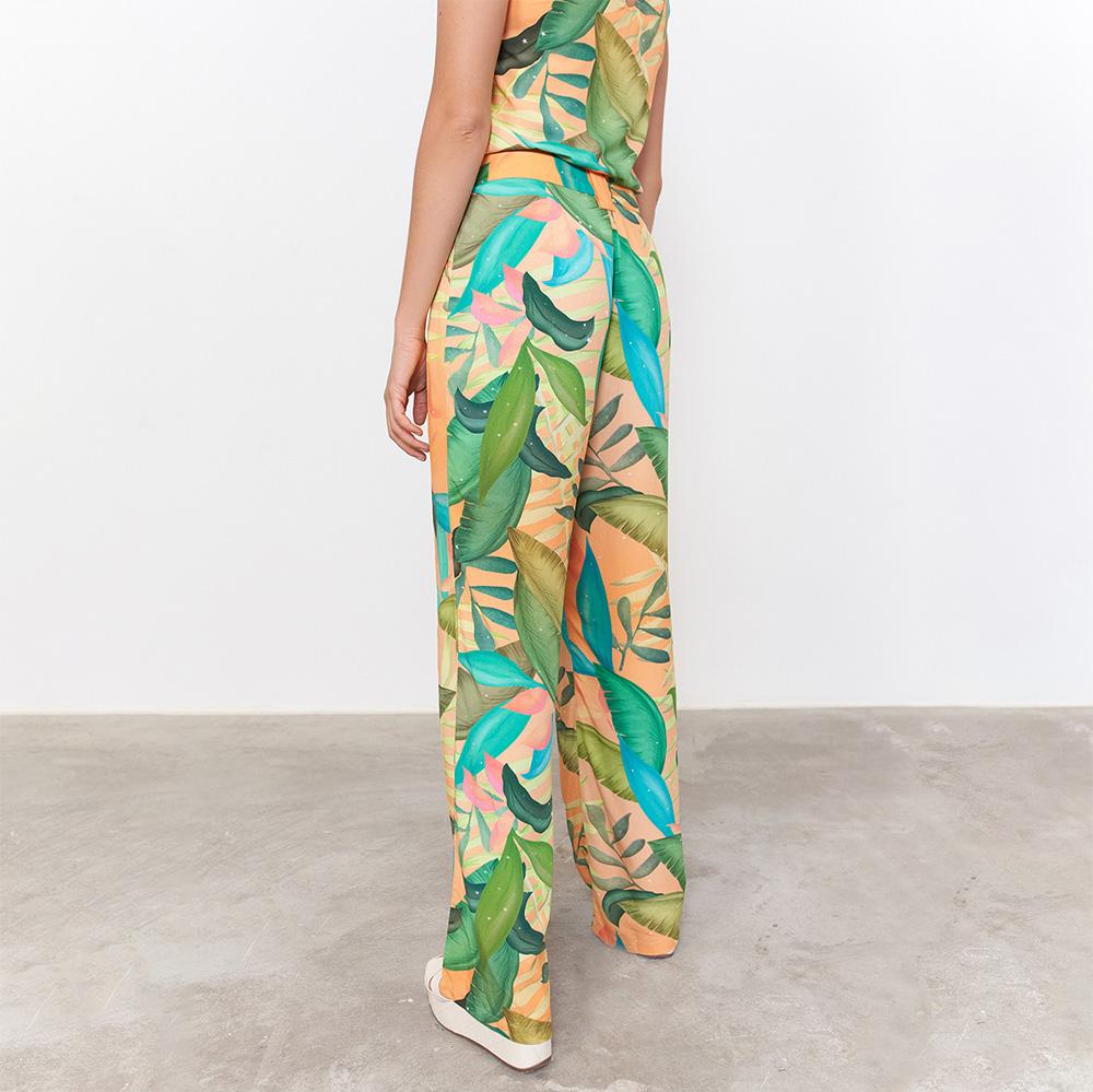 Calça Pantalona Bico de Tucano