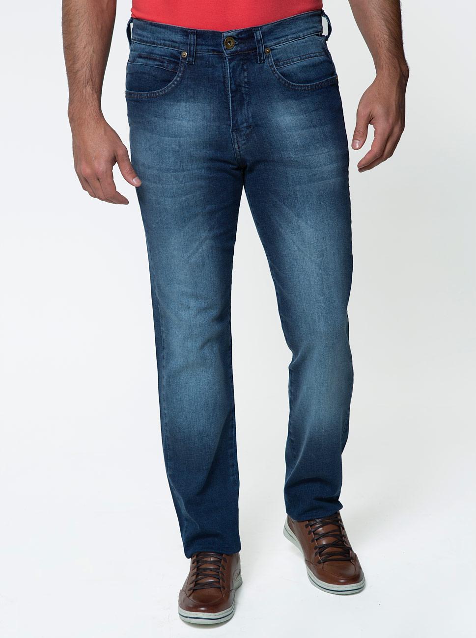 Calça Jeans Comfort