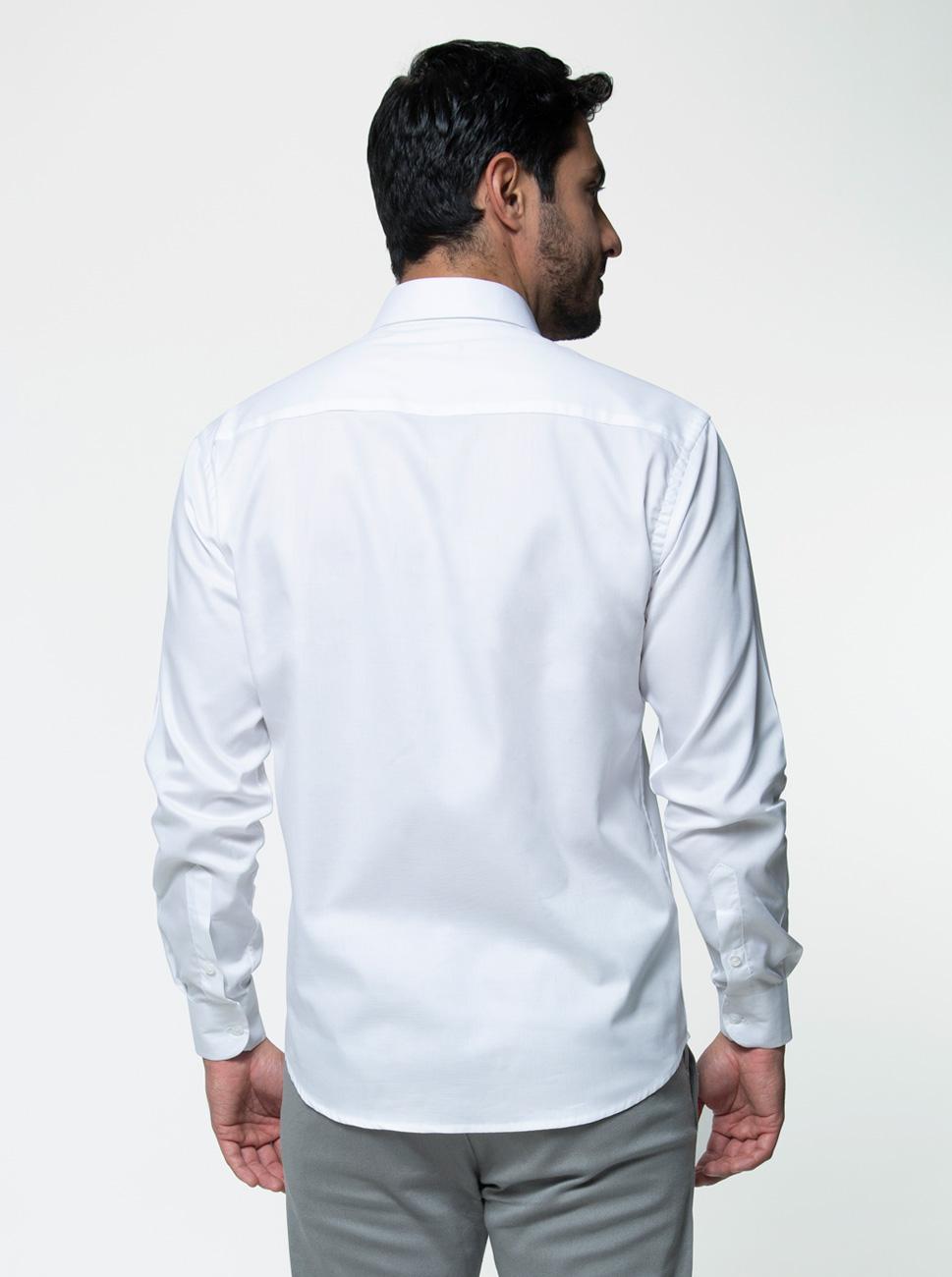 Camisa Fio 60 Manga Longa