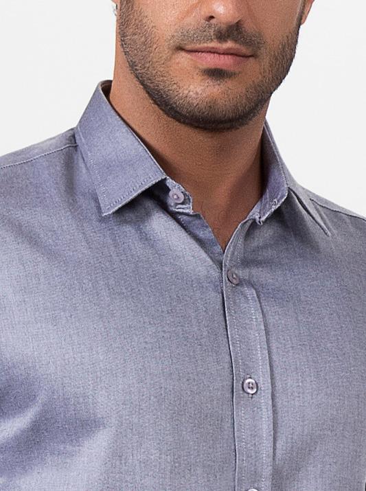 Camisa Linea Diamante Manga Longa