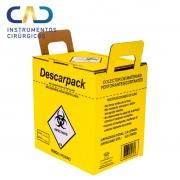 Coletor Perfurocortantes 7L - Descarpack