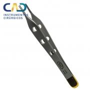 Pinça Adson Dente de Rato Widea com Furo - 12 cm