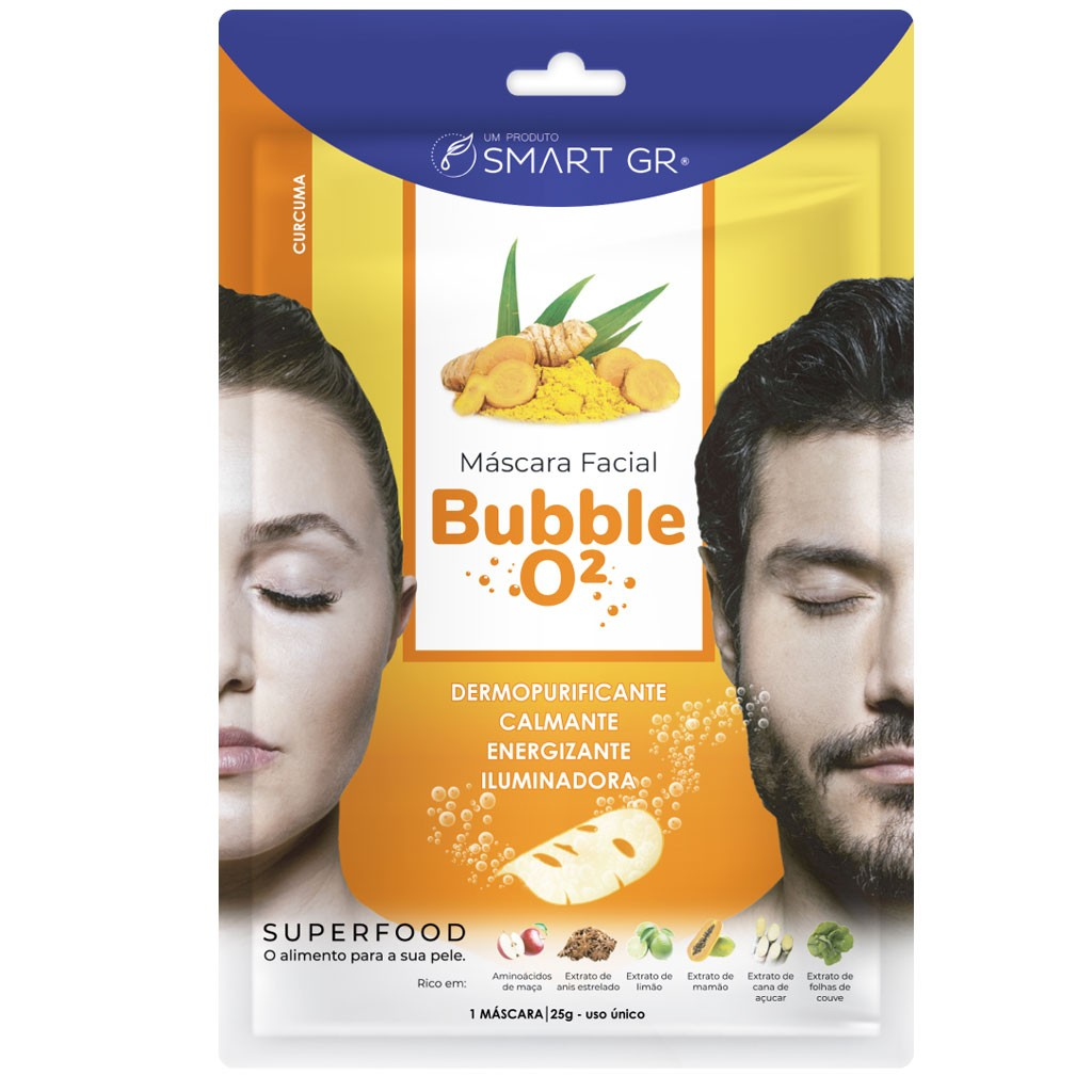 Bubble O2 - Cúrcuma