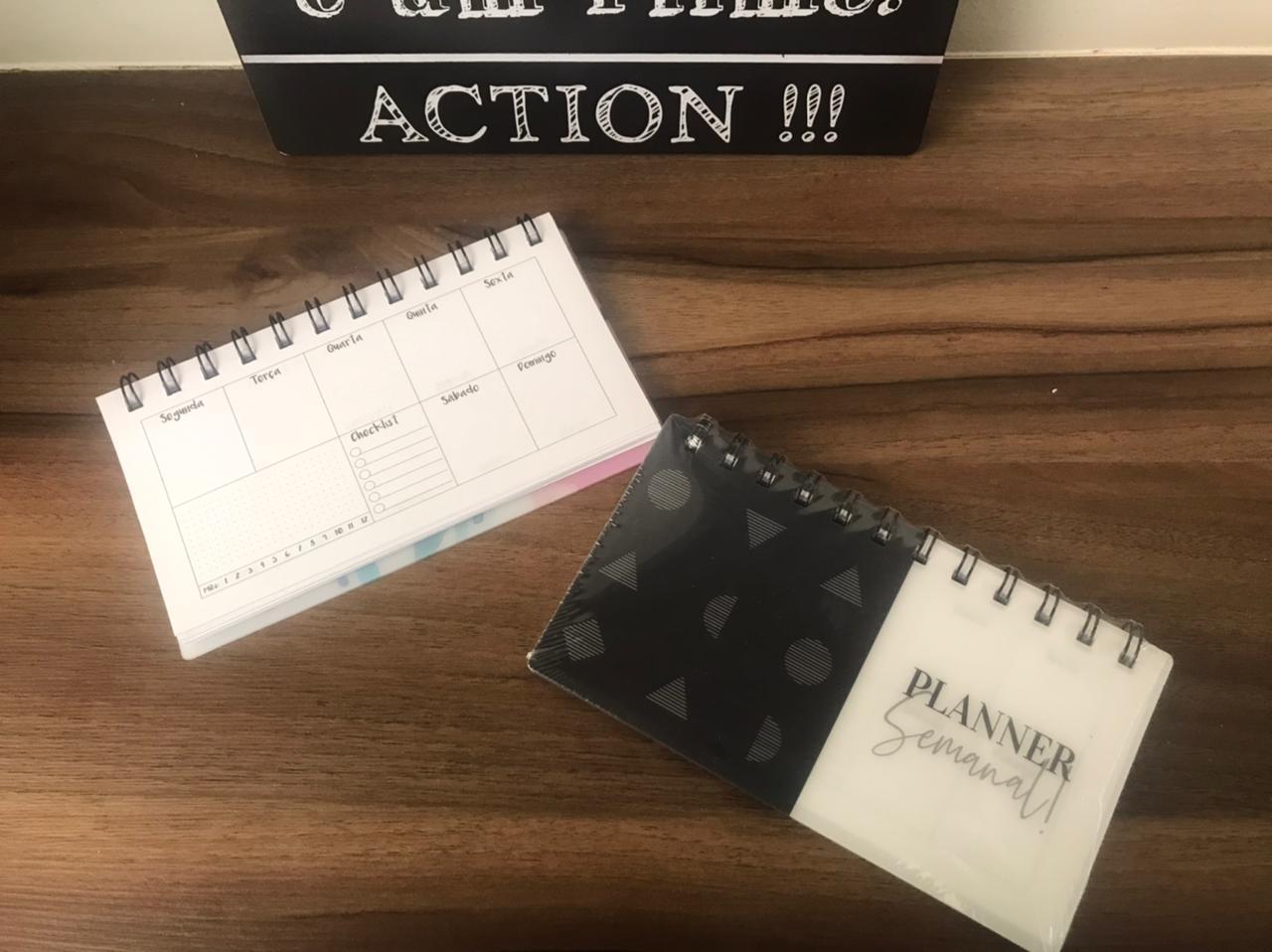 Agenda Planejamento semanal