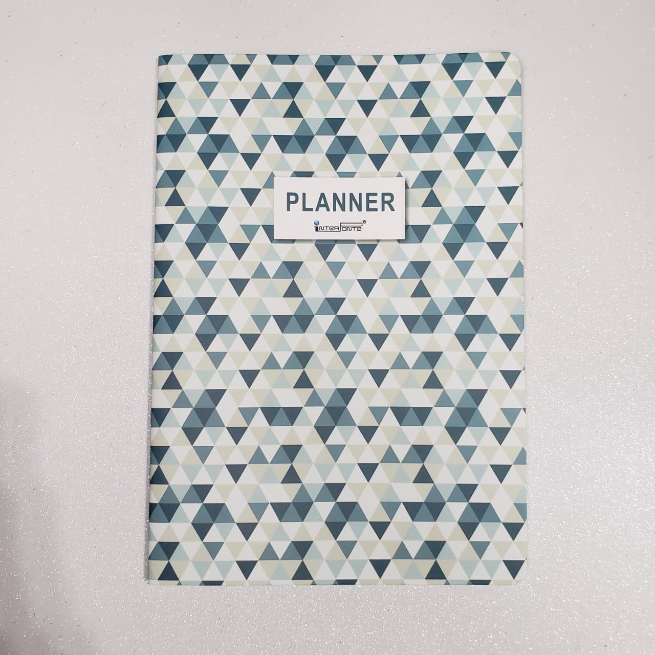 Caderno Planner semanal