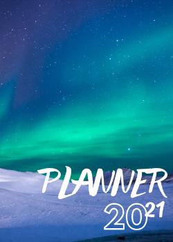 Capa para Planner Aurora