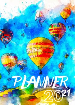 Capa para Planner Ballons
