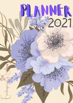 Capa para Planner Flowers 2