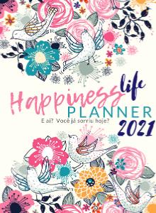 Capa para Planner Happiness Life