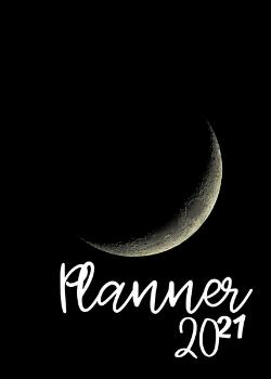 Capa para Planner Moon