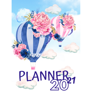 Planner Estrelari 2021 2022 Balloons 4
