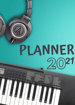Planner Estrelari 2021 Music 2