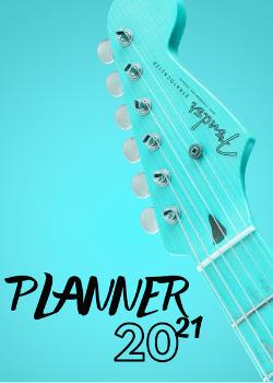 Planner Estrelari 2021 Music 5