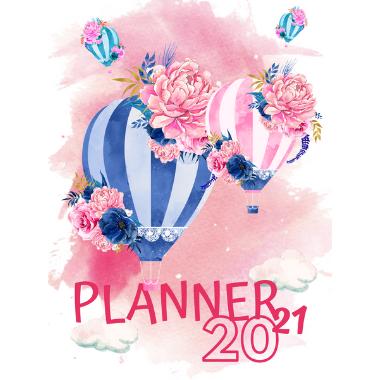 Planner Estrelari 2021 2022 Balloons 3