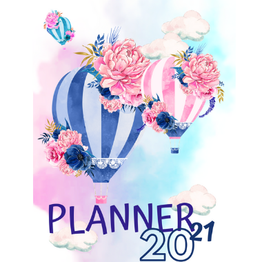 Planner Estrelari 2021 2022 Balloons 5