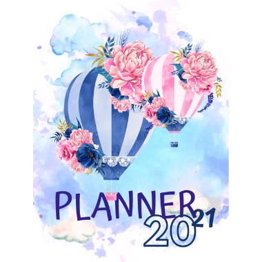 Planner Estrelari 2021 2022 Balloons 6