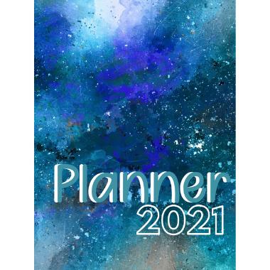 Planner Estrelari 2021 2022 Blue Painting