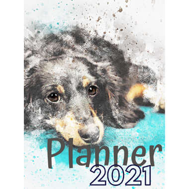 Planner Estrelari 2021 2022 Dog 8