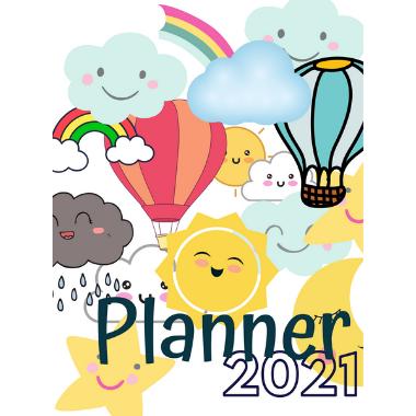 Planner Estrelari 2021 2022 Kawaii