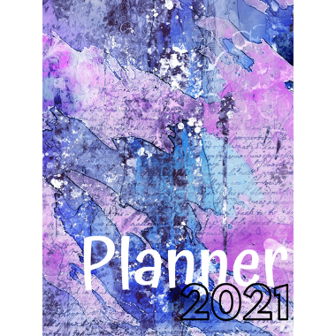 Planner Estrelari 2021 2022 Lilac 1 Painting