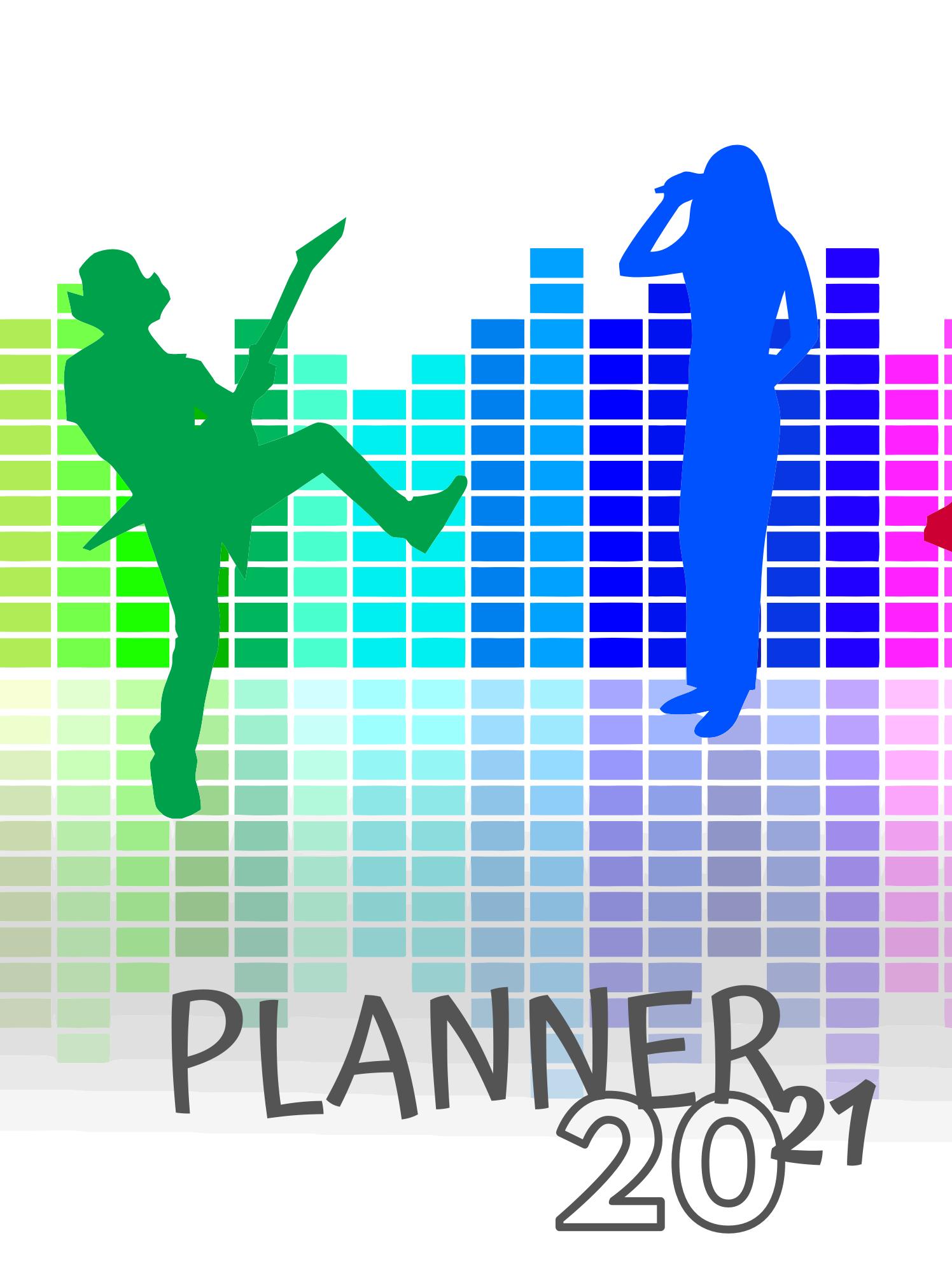 Planner Estrelari 2021 2022 Music 10