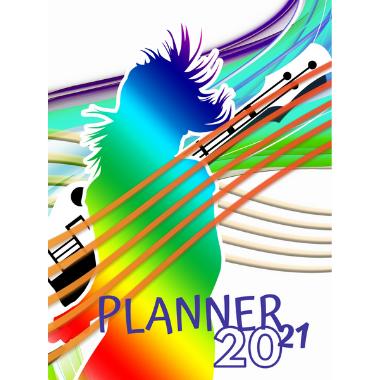 Planner Estrelari 2021 2022 Music 9