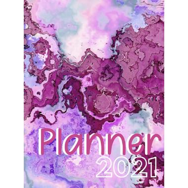 Planner Estrelari 2021 2022 Purple Painting