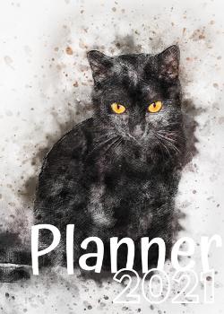 Planner Estrelari 2021 Black Cat