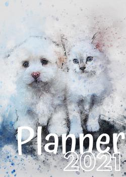 Planner Estrelari 2021 Cat and dog