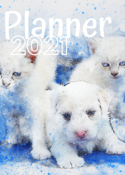 Planner Estrelari 2021 Dogs and cats