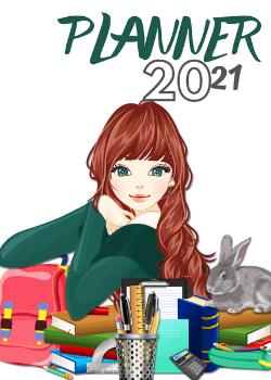 Planner Estrelari 2021 2022 Girl