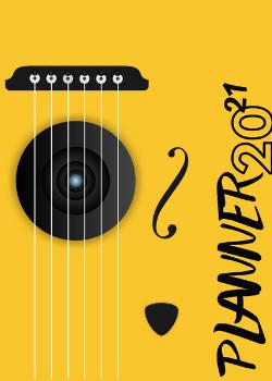 Planner Estrelari 2021 2022 Music 4