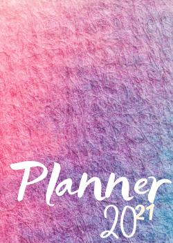 Planner Estrelari 2021 Pink and purple