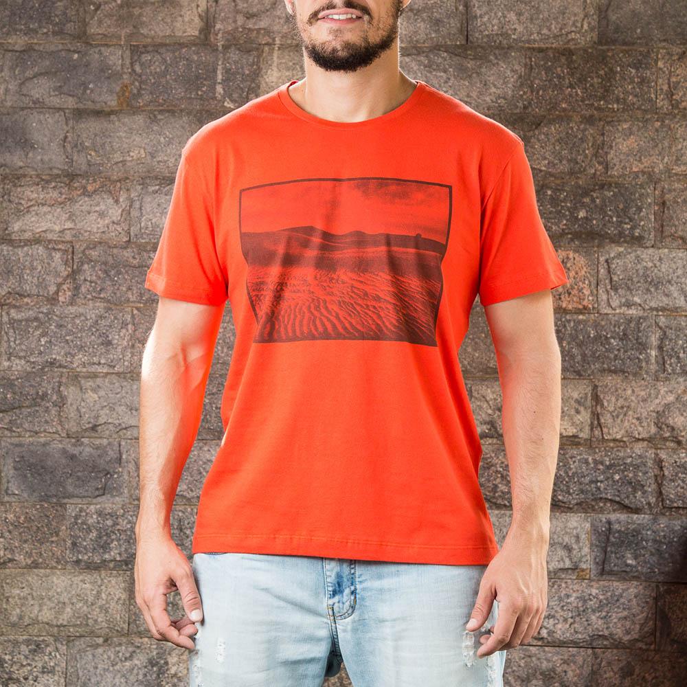 Camiseta Desert Vermelha