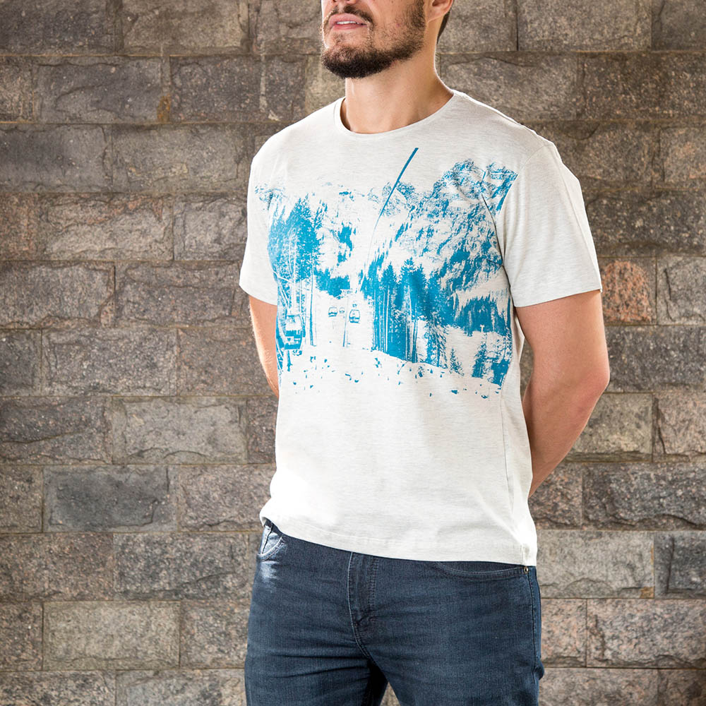 Camiseta Vbrüm Cinza