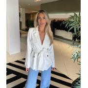 Blazer bolsos frente Off white -