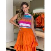 Blusa tricot Marcela Colorido -