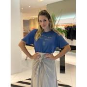 Blusa work on you for you Azul -