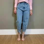 Calça jeans Helena Azul -