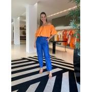Calça Mariana Jeans Azul -