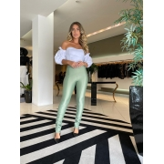 Calça transpasse power Verde -