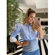 Camisa bianca Azul -