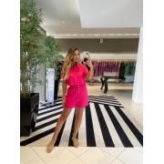 Conjunto camisa e shorts Pink -